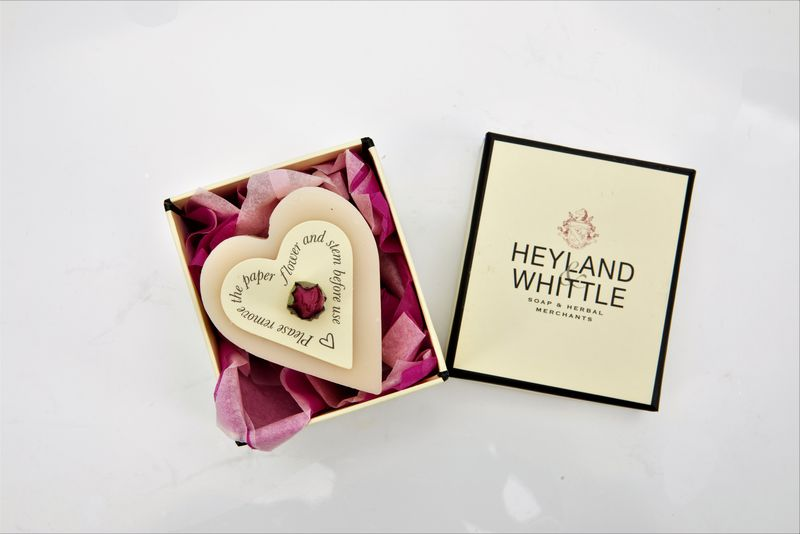 Queen of the Nile Heart Soap in a Gift Box 40g
